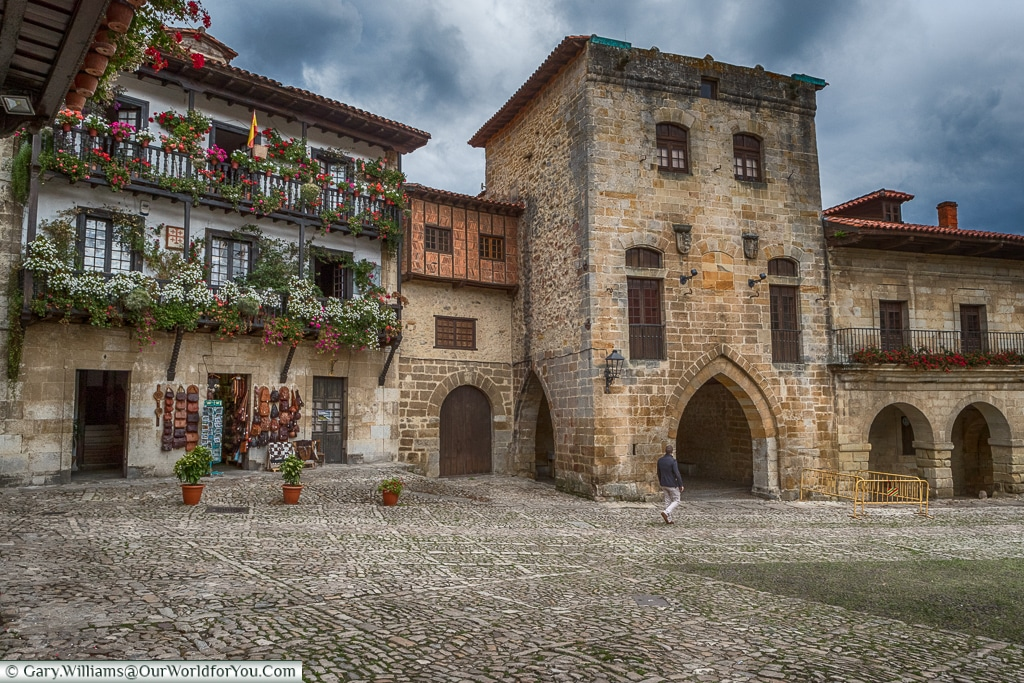 Torre de Don Borja, Santillana del Mar, Cantabria, Spain