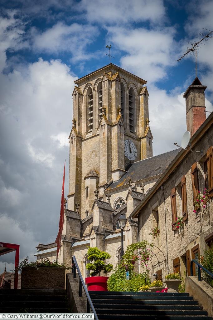 Saint Remy Church, Essoyes, France