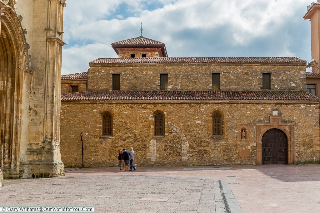 The Church of San Tirso, Oviedo, Spain