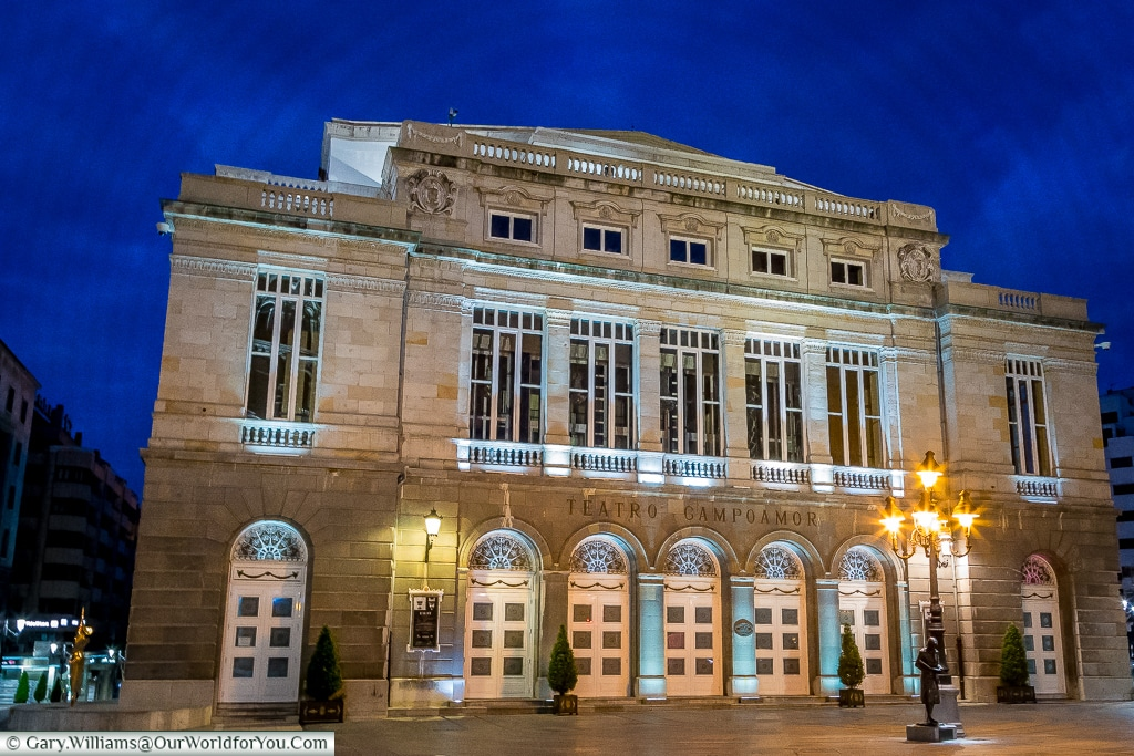 Theatre Campoamor, Oviedo, Spain
