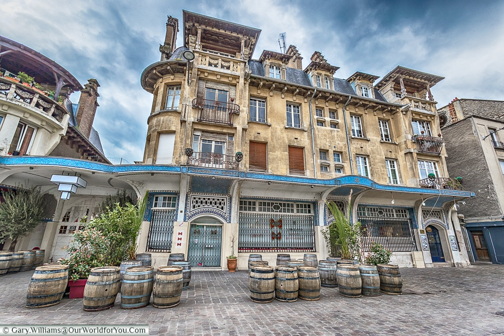 On the Rue du Temple, Reims, Champagne Region, France