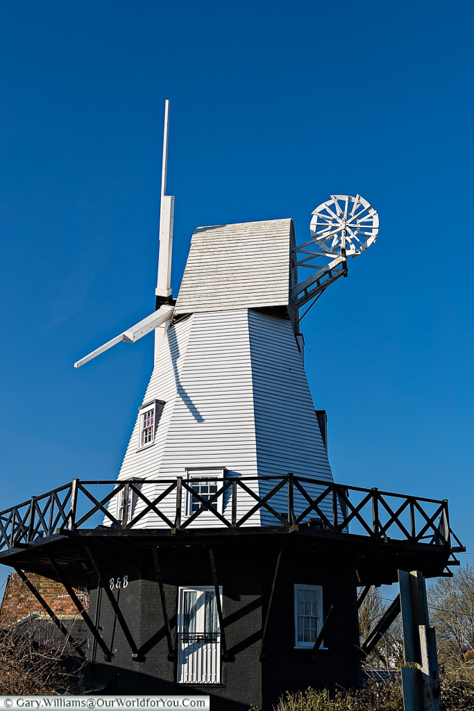 The Windmill, Rye, East Sussex, England, UK