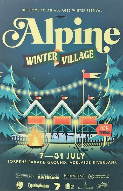 Alpine Winter Village