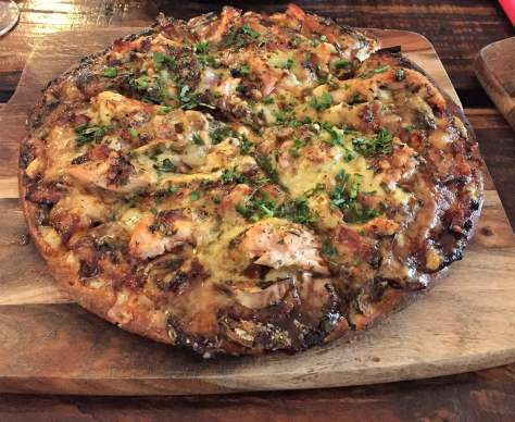 "The ""Big Smoke signature pizza"