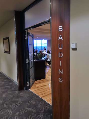 Entry into the Baudin Restaurant