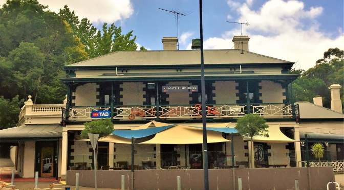 Pumped to be at the Aldgate Pump Hotel – Adelaide