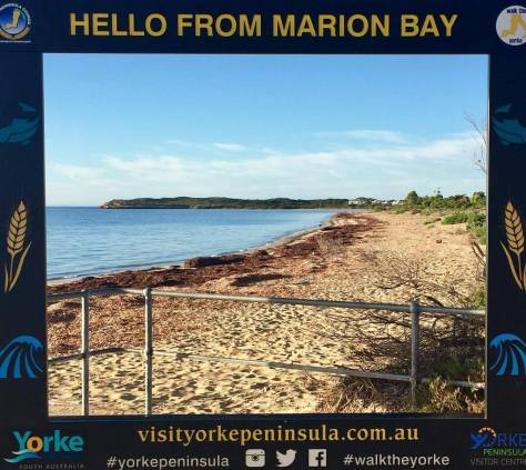 Welcome to Marion Bay