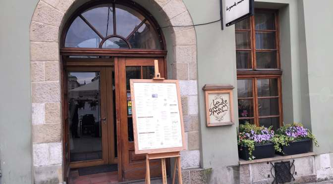 Dining at La Grande Mamma, Krakow