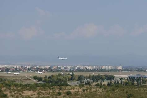 Plane spotting from Best Western Premier Sofia Airport Hotel