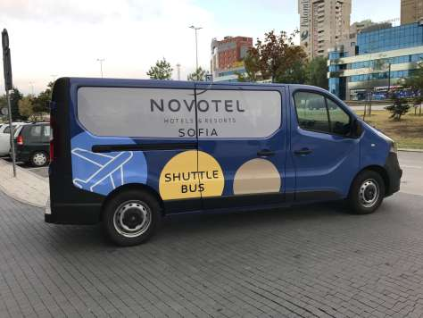 What's the best way to get to the Novotel Sofia from the Airport?