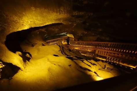 Staircase in Wieliczka Salt Mine