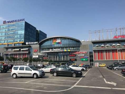 The Mall near the Novotel Sofia
