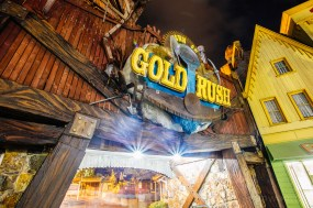 "Fun Fact - Gold Rush County was renamed to ""Town of Gold Rush"" when Buzzsaw opened."