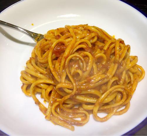 お店のトマトソースを再現したい⑥ 茹で汁の効果がかなりすごい!
