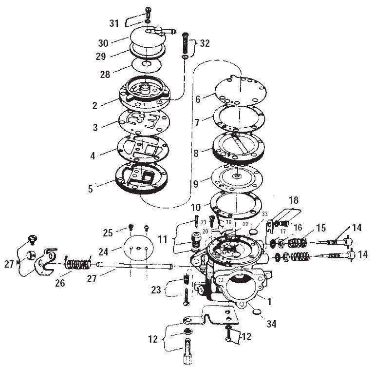 Yamaha mikuni bs 34 'how to set the mixture on a mikuni