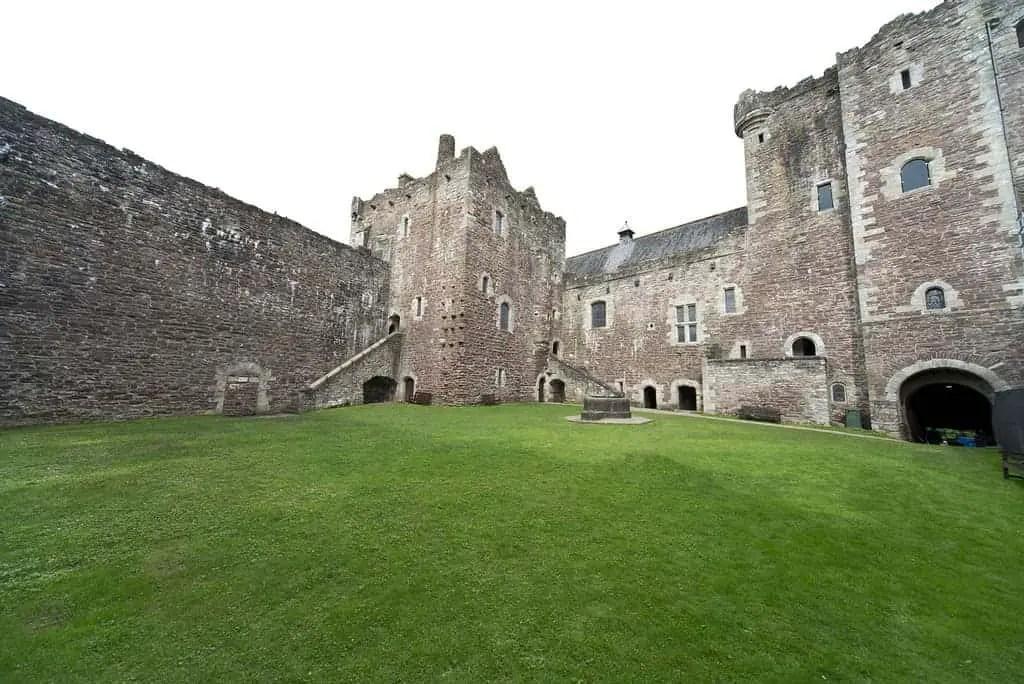 Doune Castle Courtyard