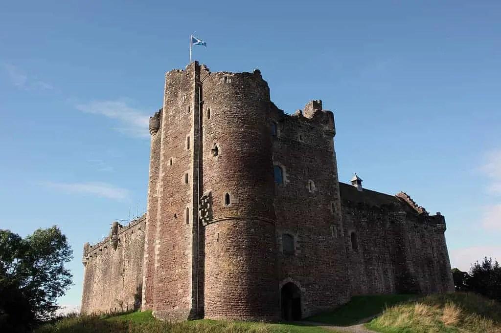 Doune Castle outside