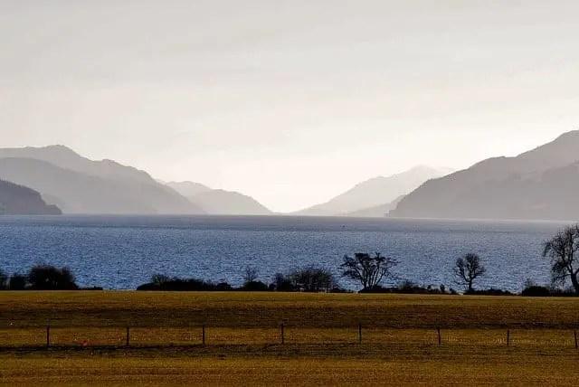 Loch Ness in Autumn