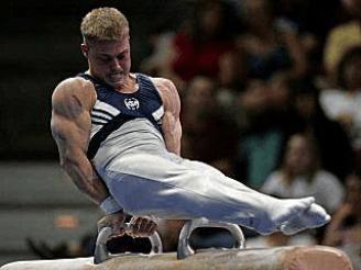 gymnast triceps
