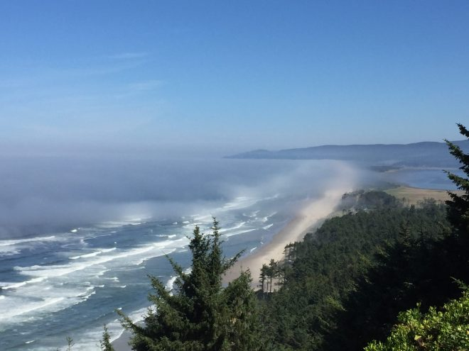 Top of Cape Lookout
