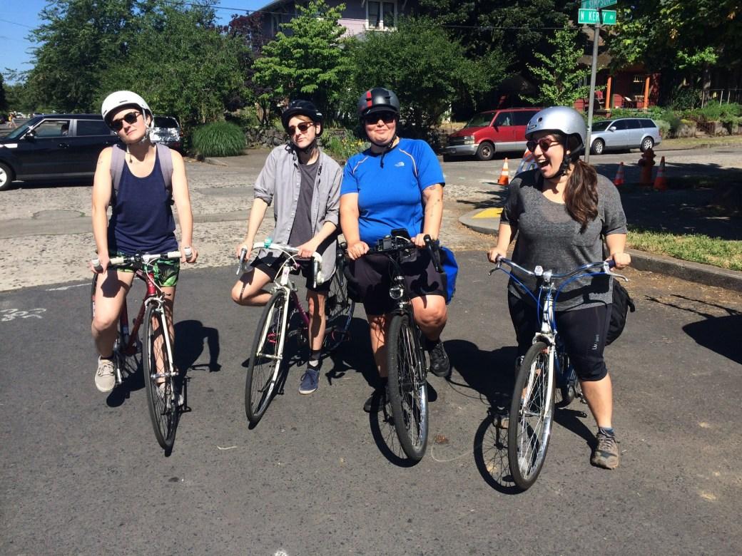 bike camping crew