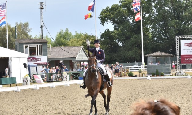 Dressage results: Hickstead International Nations CupCDIO3* and British YH Championships, 25-29 July, Day 3