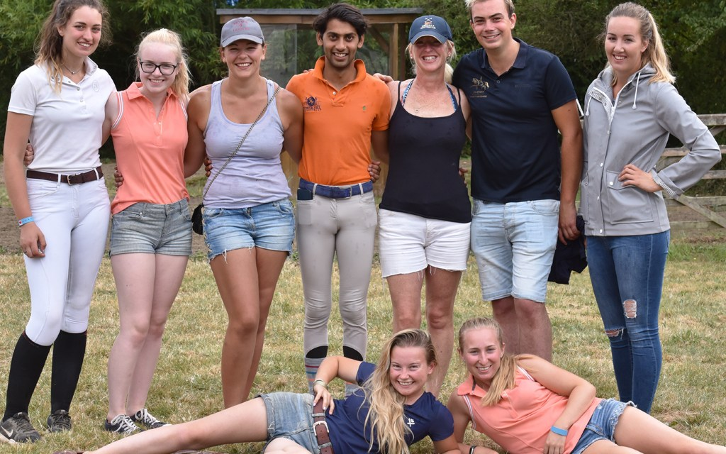 "Meet the young ""Red Arrows"" of Dressage!"