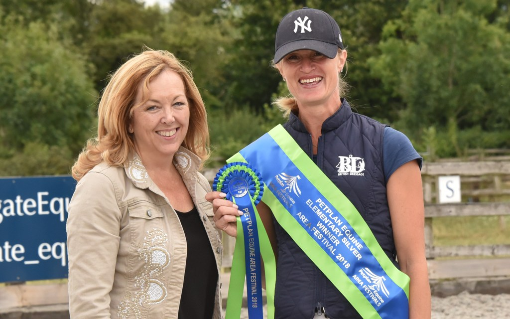 Dressage results: Chester Hall Events Area Festival, Speedgate, Kent, 12 August (Confirmed)