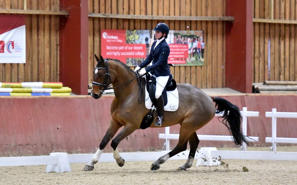 Dressage results: Merrist Wood, Surrey, Winter Regional Championships — 24 February