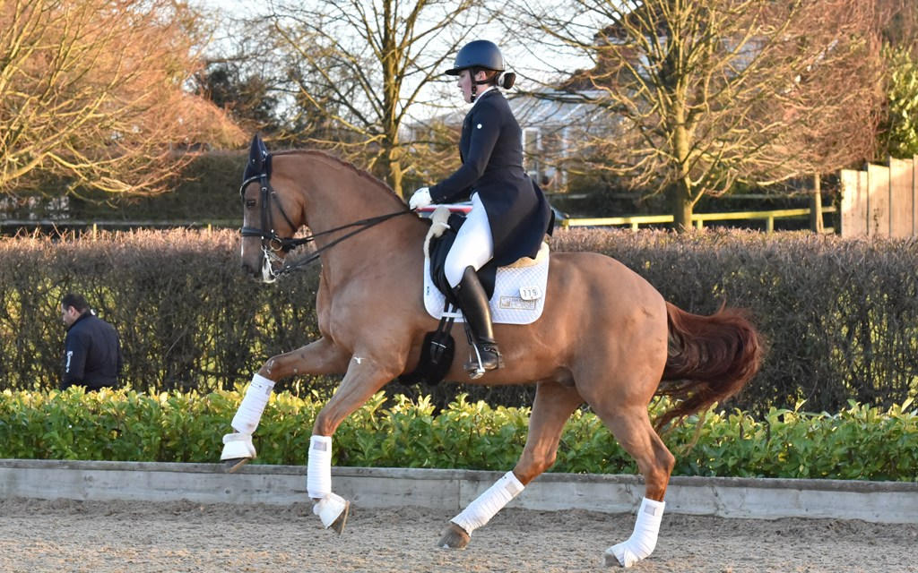 Dressage results : Step Aside, West Sussex, 7 February. Corrected