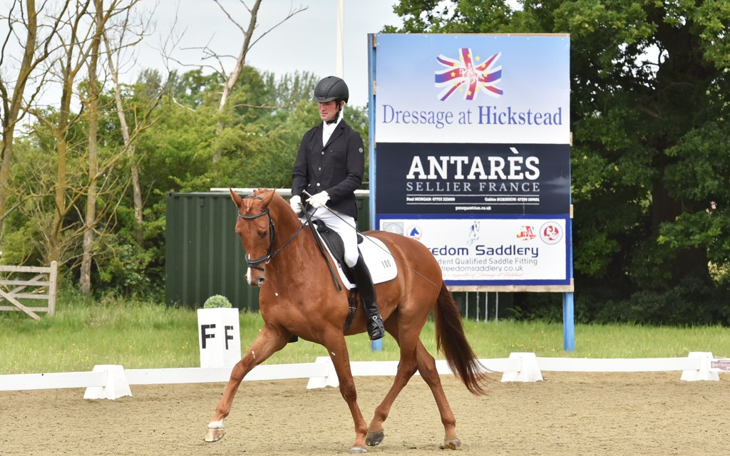 Hickstead Dressage Masters southern finalists line up four by four