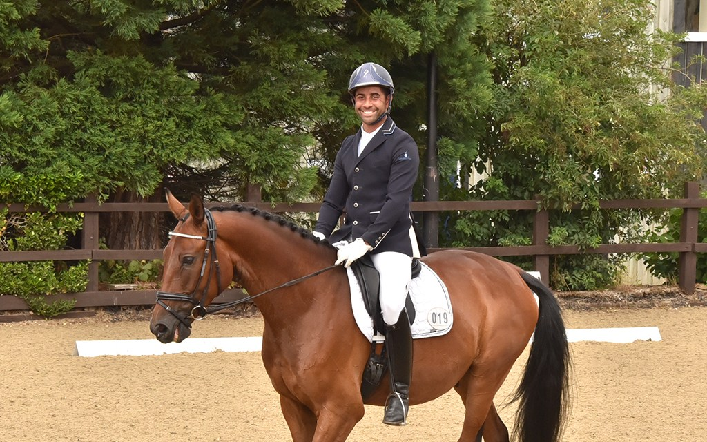 Dressage results: Sparsholt, Hants, 25 July 2020