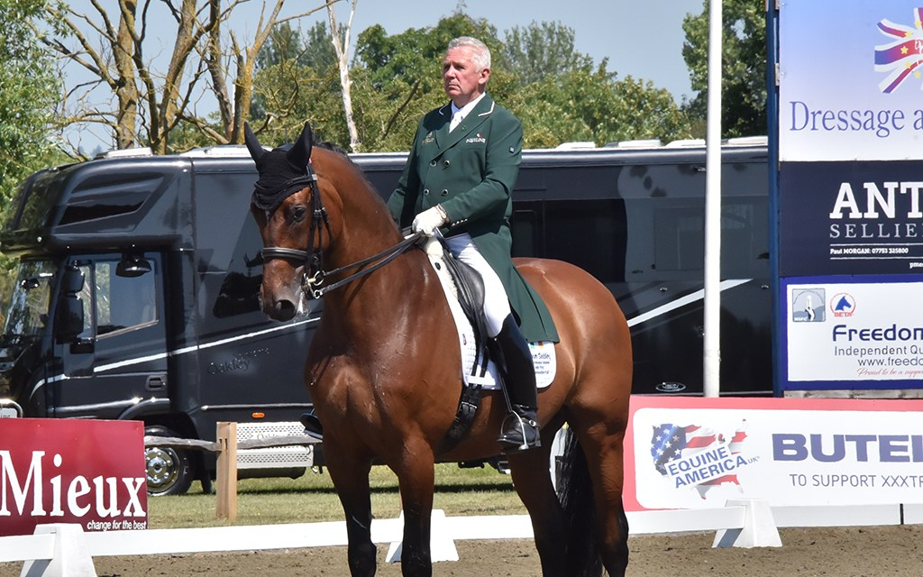 A hole in the heart of Southern affiliated dressage — Mr Hickstead bows out
