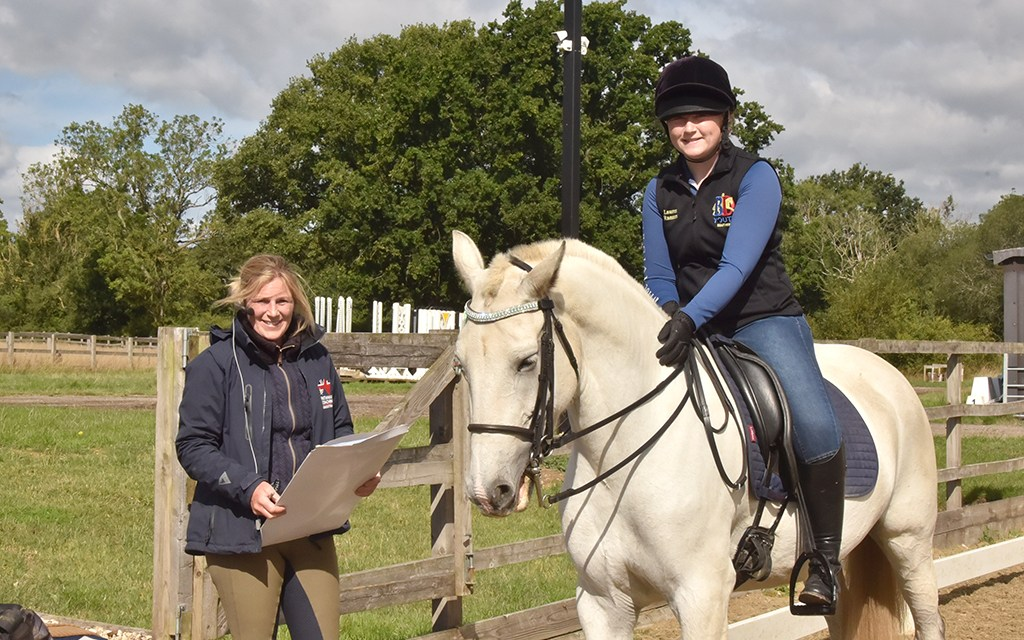 Ring craft — going onto the dressage stage