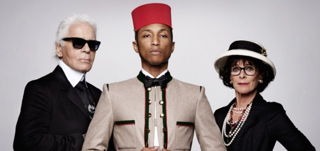 capa-karl-lagerfeld-pharrell-williams-cara-delevingne-chanel 2