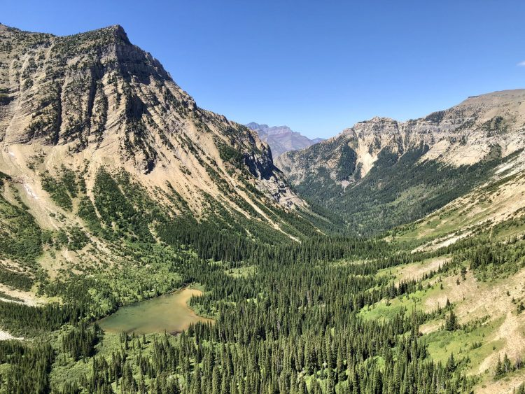 Crypt Lake hike has stunning views