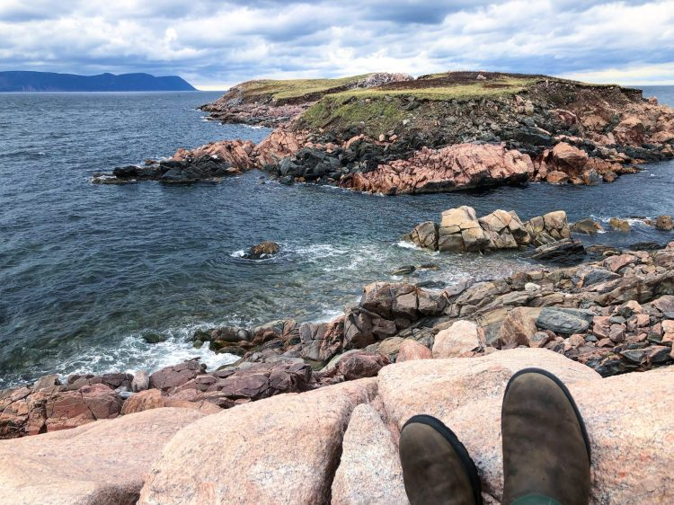Driving the Cabot Trail near White Point