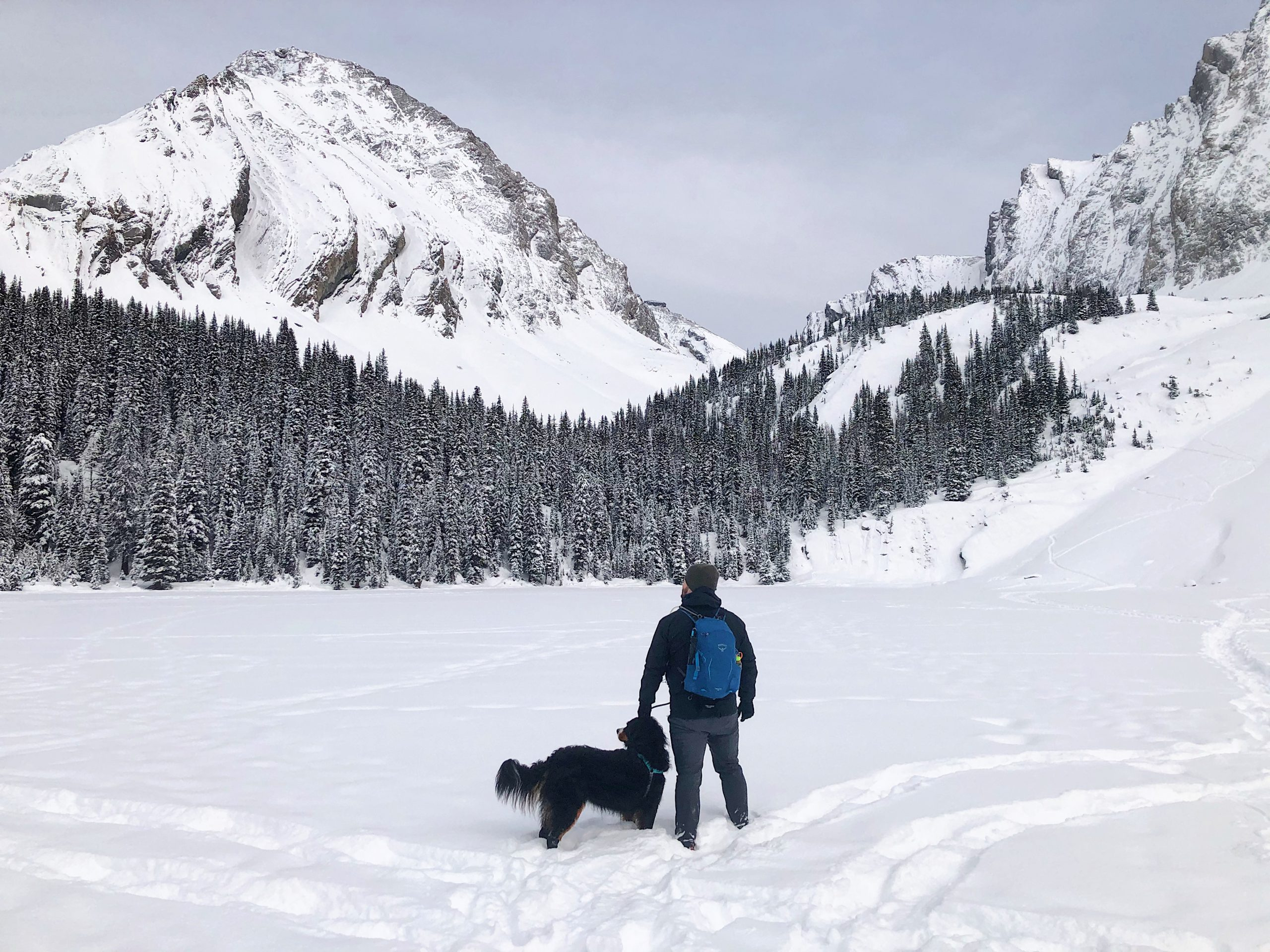 The Chester Lake Hike in Winter Is Better Than Most via @outandacross