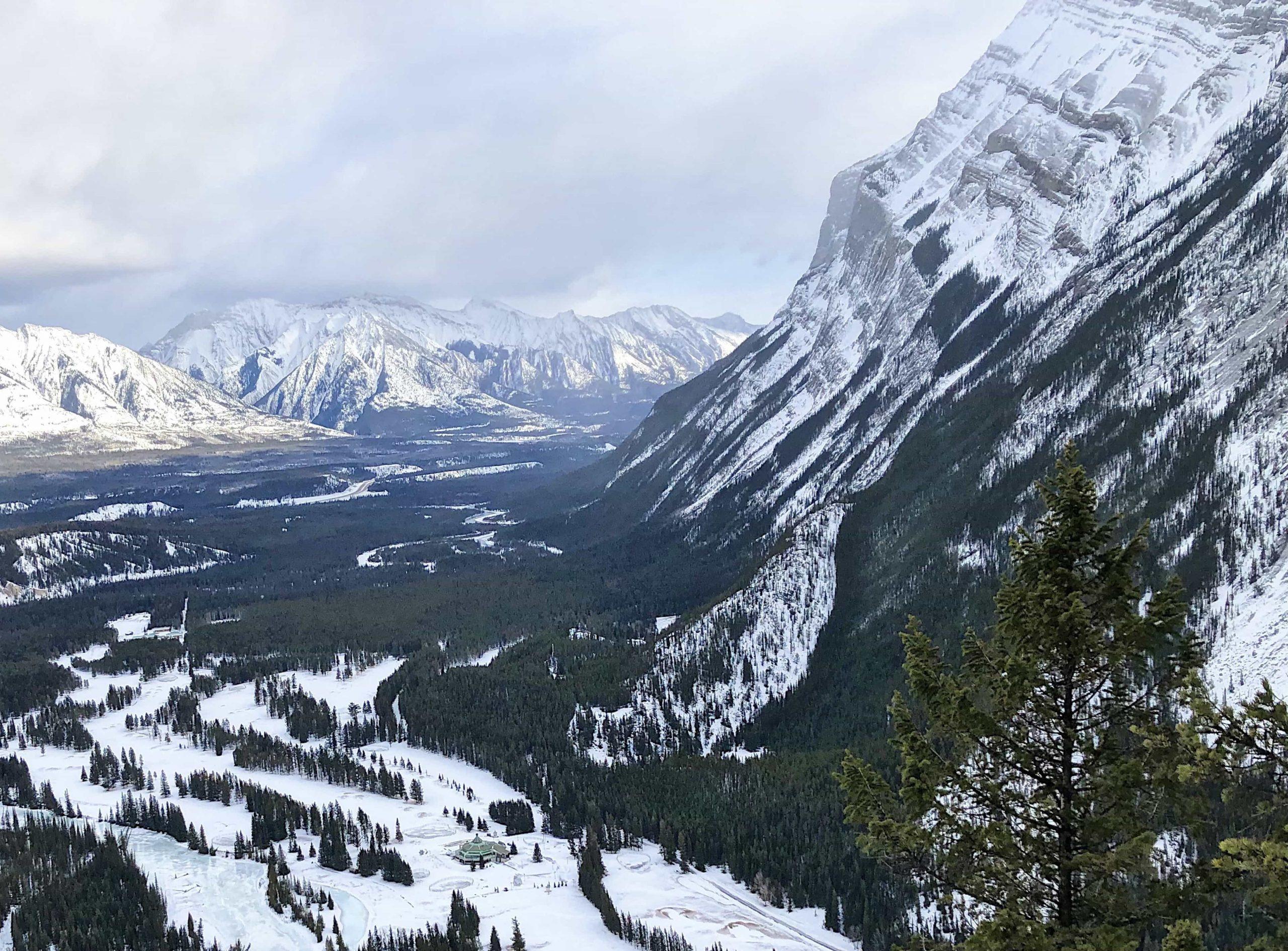 Banff's Tunnel Mountain Hike is Wonderful in Winter via @outandacross