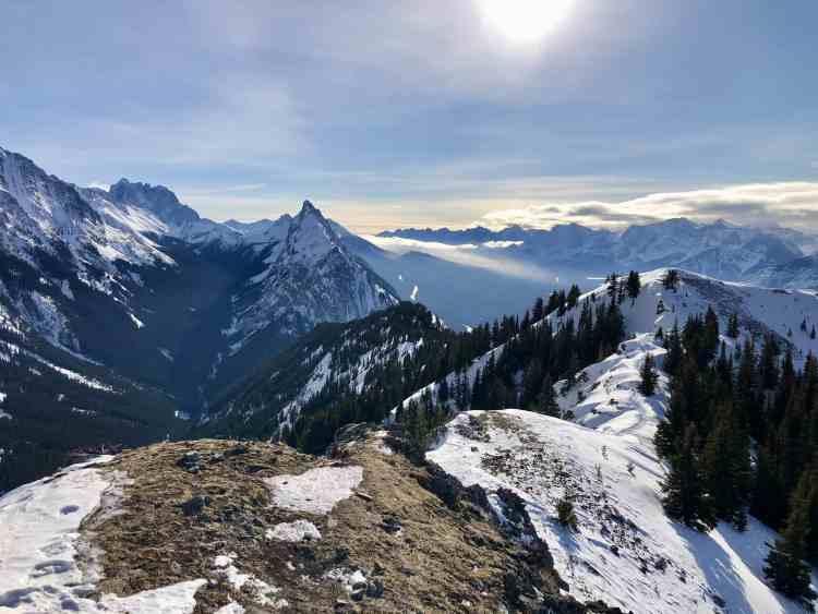 King Creek Ridge views from the true summit