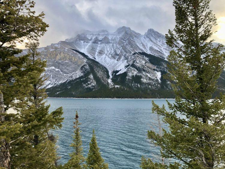 The Lake Minnewanka hike offers