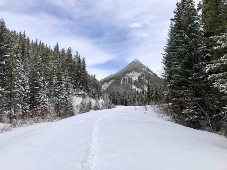 South Lawson Peak trailhead in Kananaskis