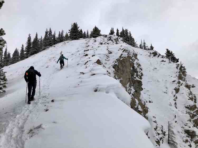 South Lawson Peak is a steep hike
