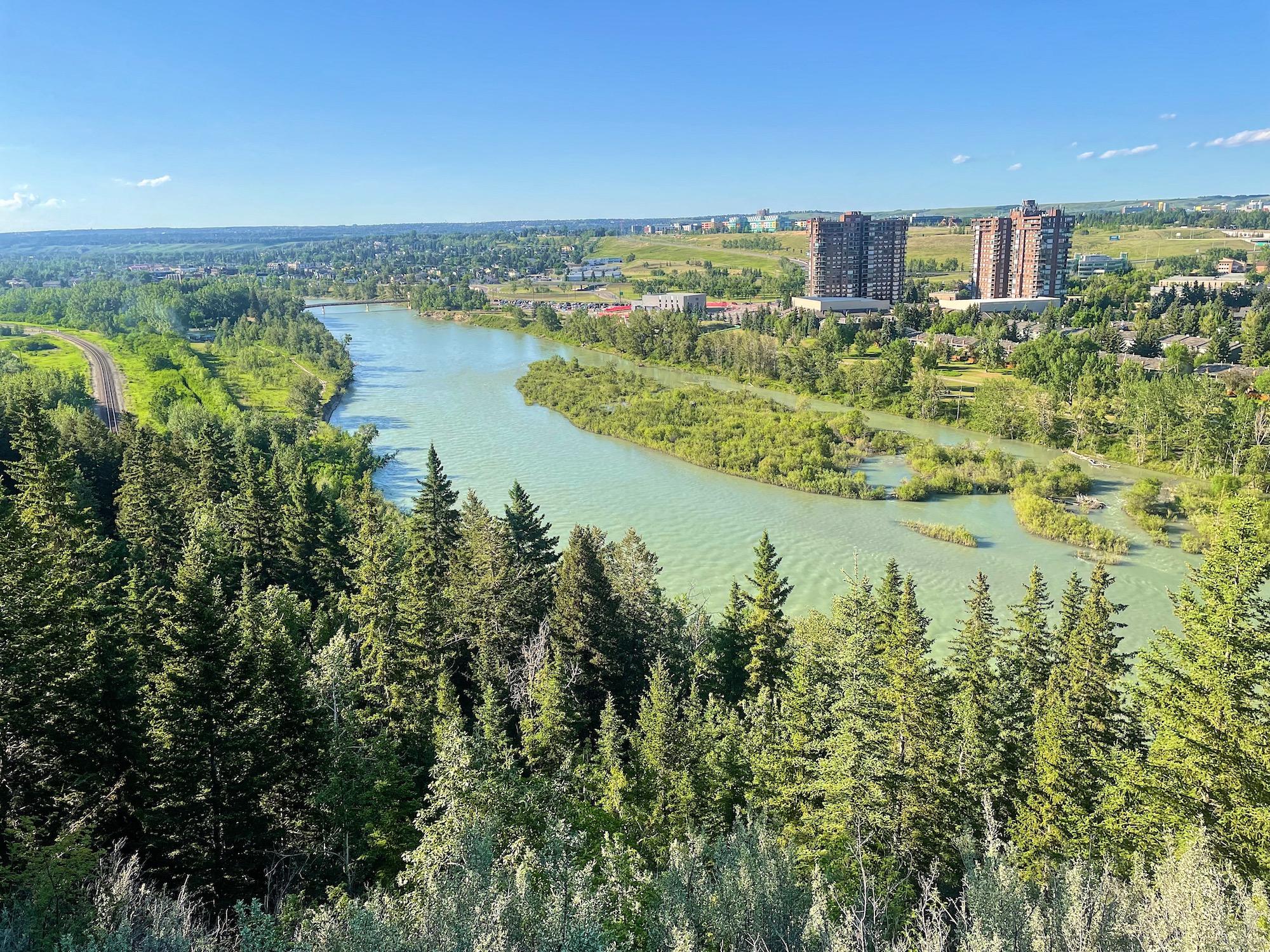 Douglas Fir Trail in Calgary's Edworthy Park via @outandacross