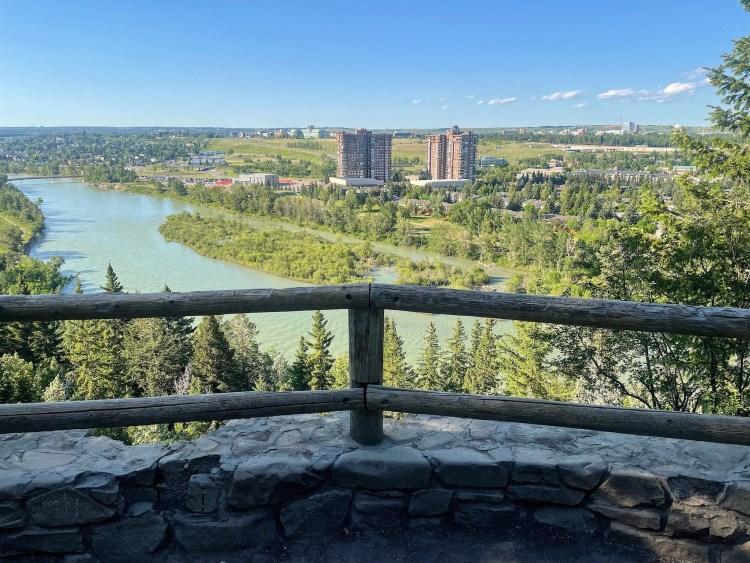 Douglas Fir Trail lookout in Calgary