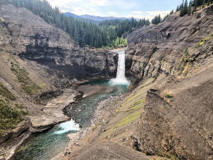 Ram Falls in Alberta
