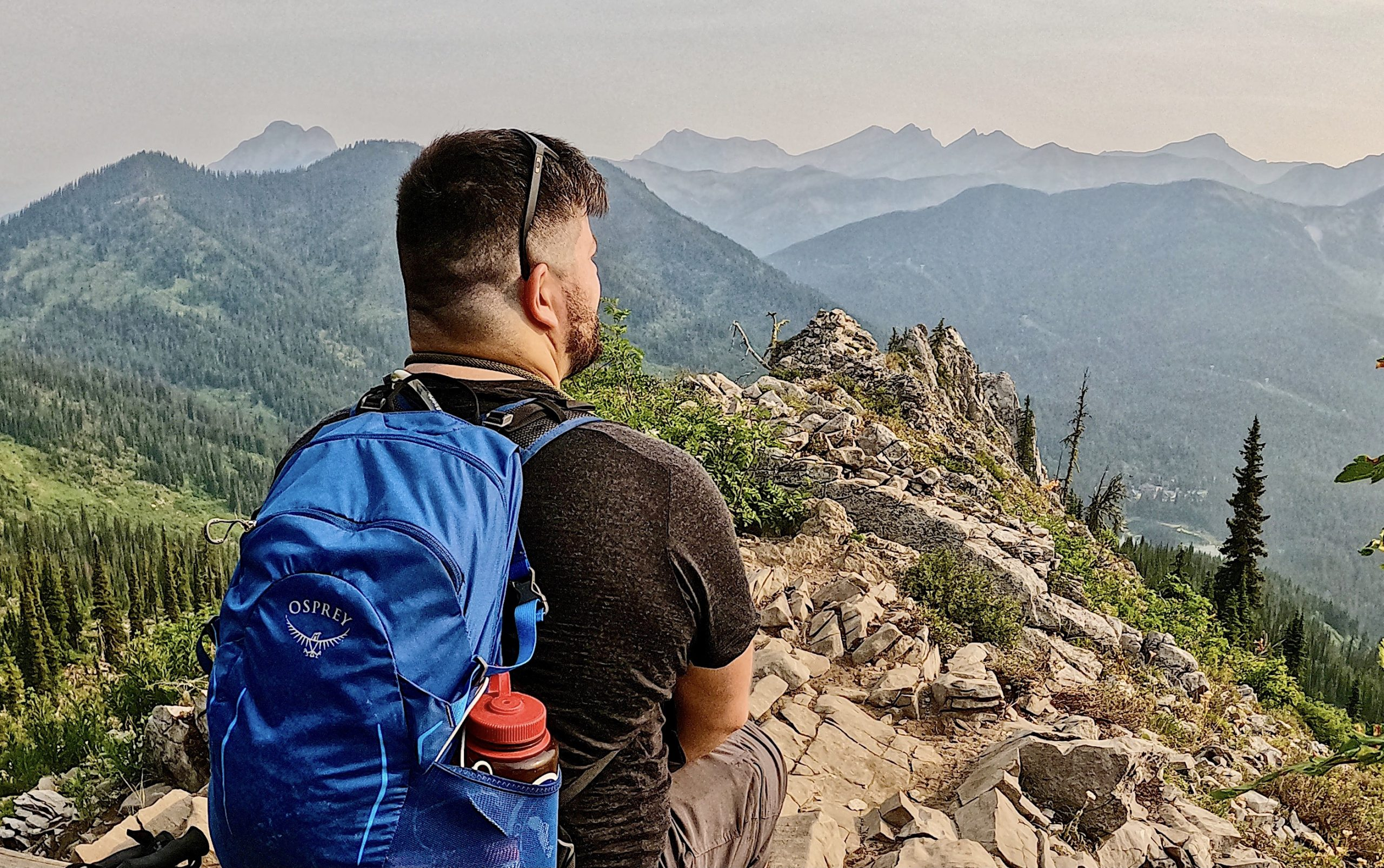 Hiking in Fernie, BC at the Spineback Trail via @outandacross