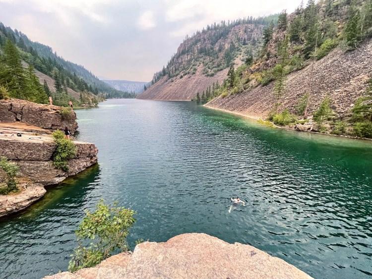 Silver Spring Lake in Elko, BC