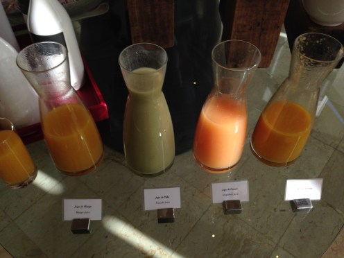 Breakfast juices