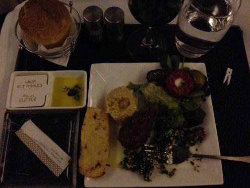 Etihad dinner